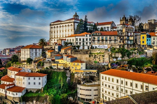 Portugal roofs