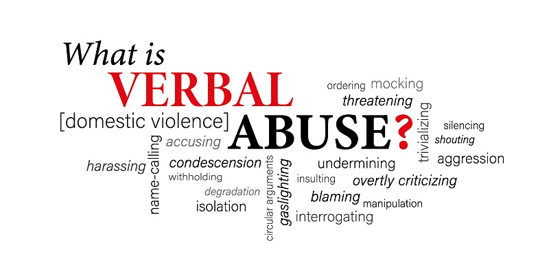 word pool for verbal abuse