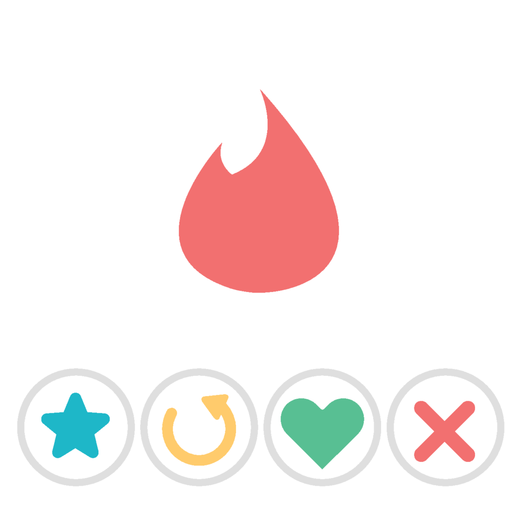 Art of tinder icons
